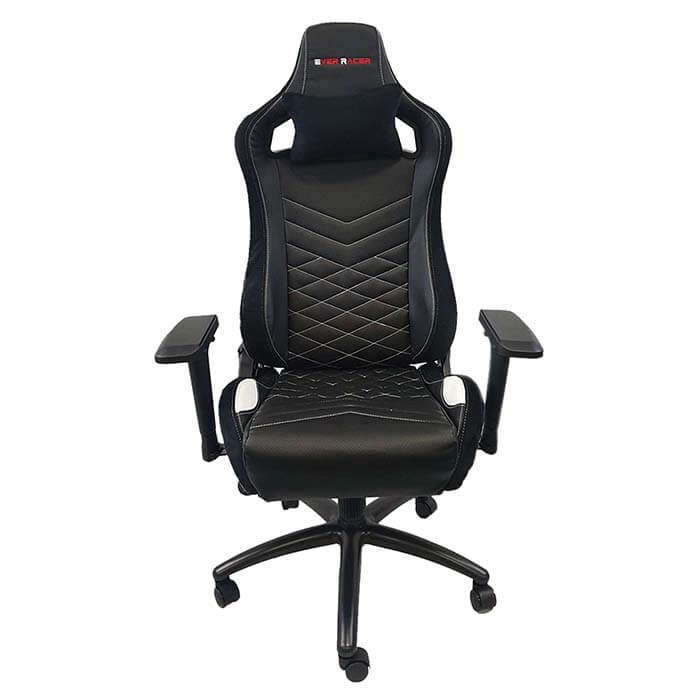 EverRacer ER099 Black and White Gaming Chair
