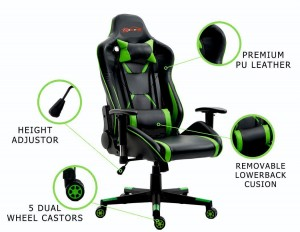New EverRacer Bigger & Stronger Black and Green