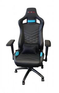 EverRacer ER079 Blue Gaming Chair