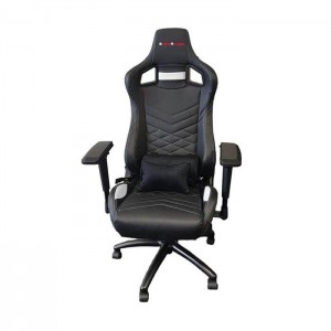 EverRacer ER078 Black and White Gaming Chair