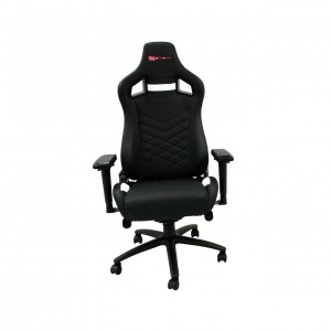 EverRacer Alpha Black and White Gaming Chair